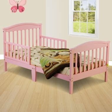 dream on me toddler bed dream on me mission collection style toddler bed in pink