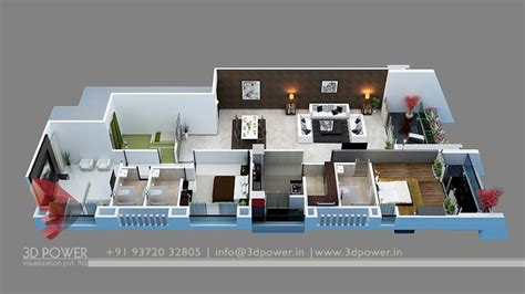 floor plan for bungalow bunglow design 3d architectural rendering services 3d