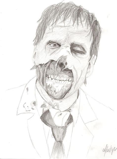 imagenes para dibujar zombies dibujos de zombies faciles imagui