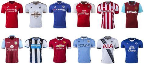 epl uniforms 2015 16 premier league jerseys soccer365