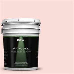 5 gallon paint home depot behr marquee 5 gal 170a 1 pink parfait semi gloss enamel