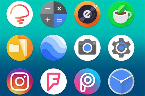 android icon size best new icon packs for android march 2018