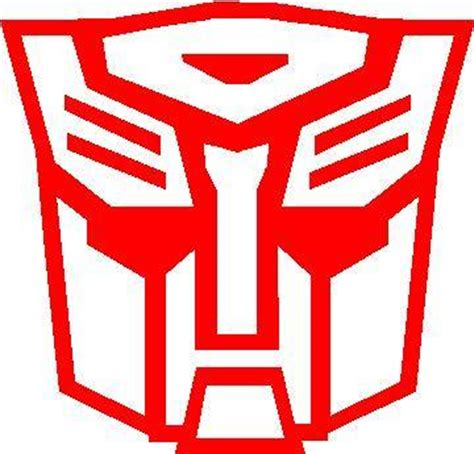 Sticker Transformer Autobot T001 autobot transformers decal sticker 04