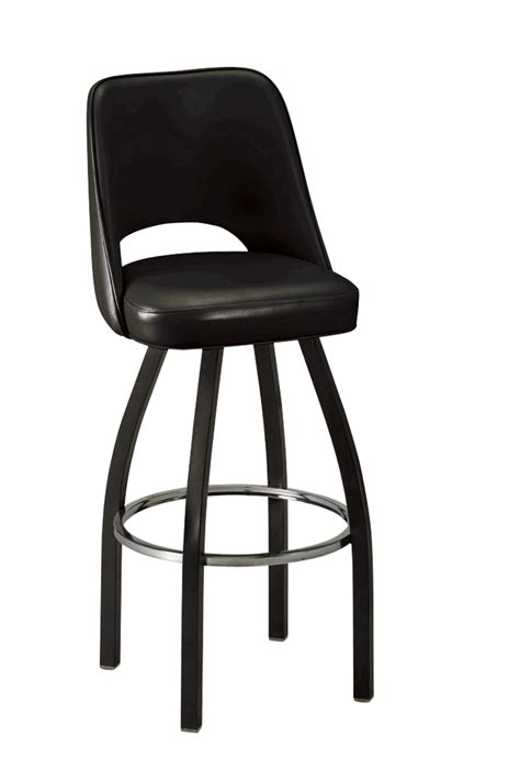 commercial bar stools swivel regal seating model 85 1115 commercial bucket swivel bar
