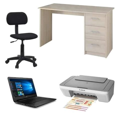 bureau complet pc portable hp 14 bureau chaise imprimante 224 299 99