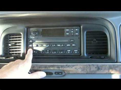 remove radio ford ranger    youtube