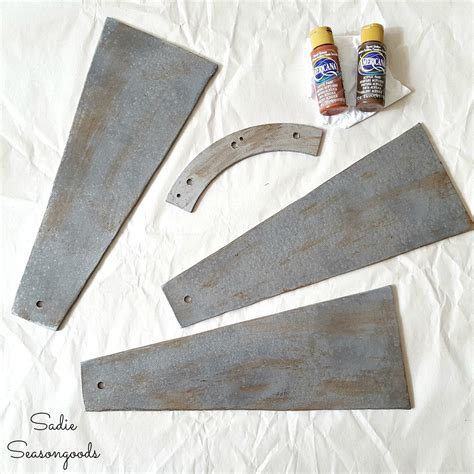 windmill ceiling fan diy outdated ceiling fan blades to be repurposed into diy