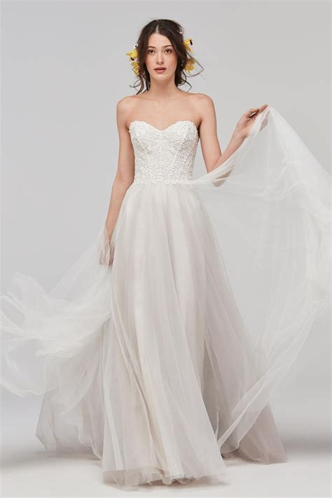 Gown Sweetheart Wedding Dress by Willowby 59700 Mariposa Sweetheart Neckline Wedding Dress