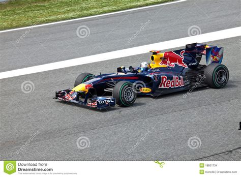 Rbr Renault The Racer Of A Of Rbr Renault Editorial Stock Image