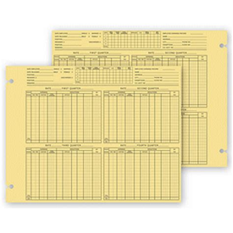employee earnings form 20993 deluxe custom business forms