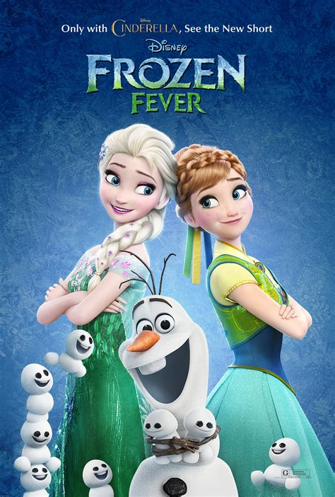 film frozen fever see the adorable new poster for frozen fever