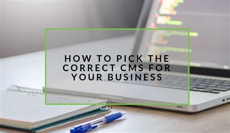 How To Pick The Correct CMS For Your Business   nichemarket