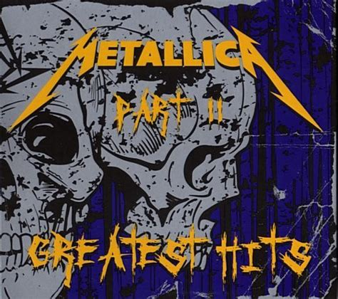 metallica greatest hits cd metallica greatest hits part ii cd compilation