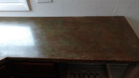 Acid Stain Concrete Countertop by Desert Acid Stain Project Photo Gallery Direct