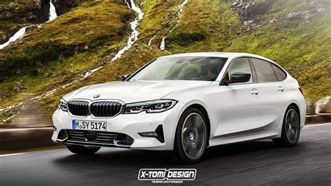 heres   bmw  series rendered    touring  gt