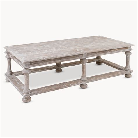Old Pine Grey Wash Coffee Table Coffee Tables Grey
