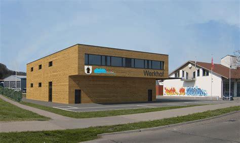 Architekt Stoll by Gewerbebau Werkhof M 246 Nchaltorf Studie Ebert Stoll