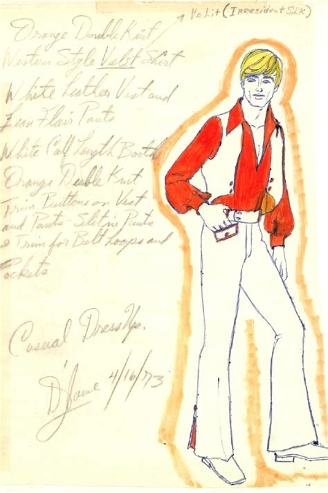 70s Sketches by He Outsider Pages 1970s Fashion Drawings Photo 5