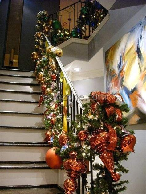 stair railing christmas ideas 17 best images about stairs on wooden steps garlands and