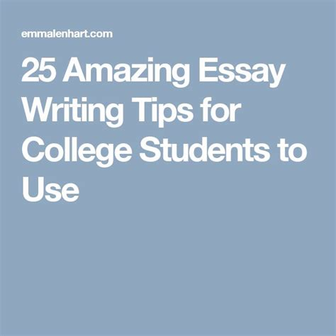 Best Essay Writing Tips by 17 Best Ideas About Essay Writing Tips On Essay Tips Vocabulary And Creative Writing