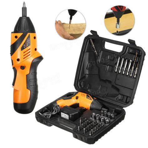 Cordless Screwdriver Drill 45 In 1 4 8v S023 4 8v Bor Listrik dctools 174 4 8v 45 in 1 non slip electric drill cordless screwdriver foldable 180 176 eu charger sale