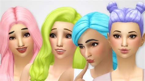 my sims 4 blog base game book recolors by inabadromance my sims 4 blog base game hair recolors by noodlescc