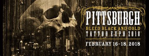 tattoo expo pittsburgh bleed black and gold pittsburgh tattoo expo contest
