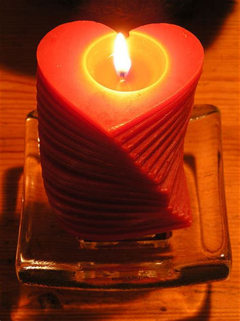homemade valentine candles project garden guides