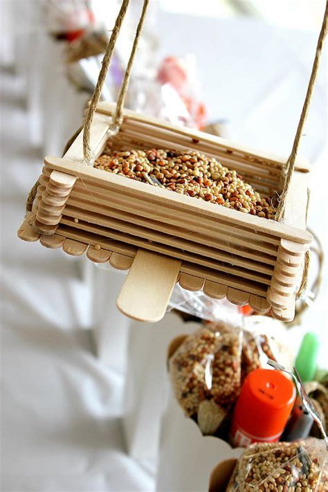 easy bird feeder crafts for 70 popsicle stick crafts hative