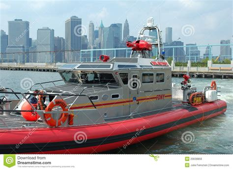 on city boat new york city fire boat editorial photo image of pontoon