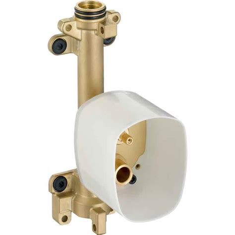 Shower Valve Location by Shop Hansgrohe Brass 3 4 In Shower Valve At Lowes