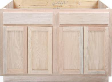 48 inch kitchen sink base cabinet kitchen sink base unfinished oak 48 quot kitchen