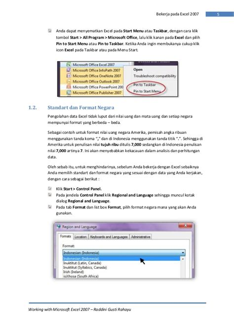 ebook tutorial excel 2007 lengkap ebook lengkap microsoft excel 2007