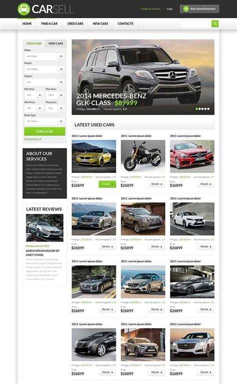70 Best Car Auto Website Templates Free Premium Freshdesignweb Dealership Website Template