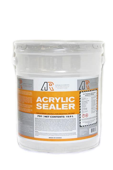 Acrylic Sealer ar acrylic sealer 1 gal nca 9682