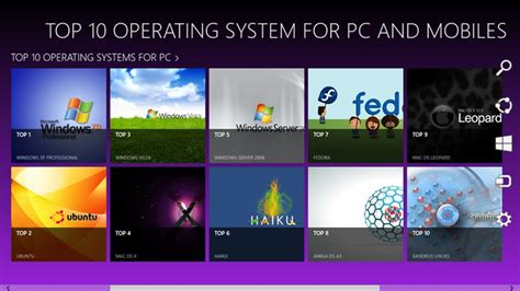 best operating system top 10 operating systems for pc and mobiles for windows 8