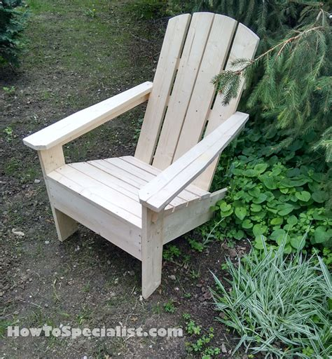 how to build adirondack chairs howtospecialist how to