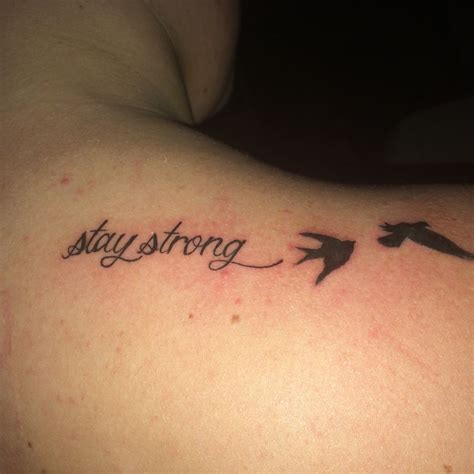 strong tattoos stay strong with birds www imgkid the image