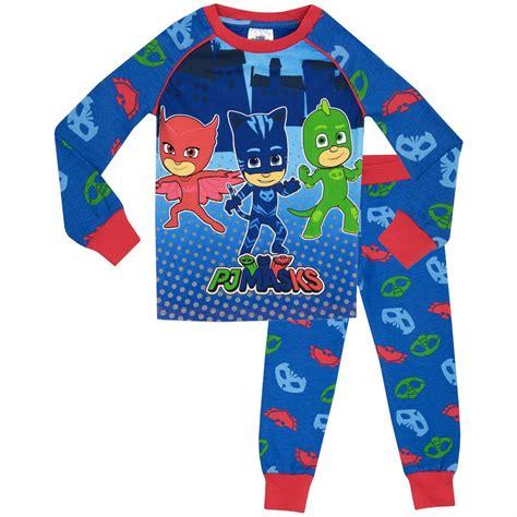 pj masks pyjamas boys pj masks pyjama set pj