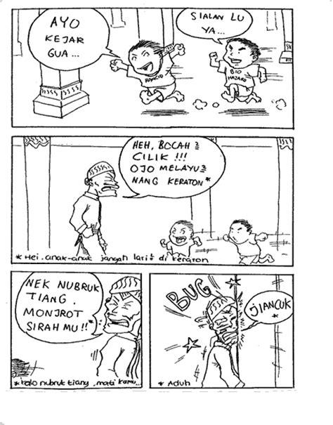 kumpulan komik pendek kocak bin ngakak yafi