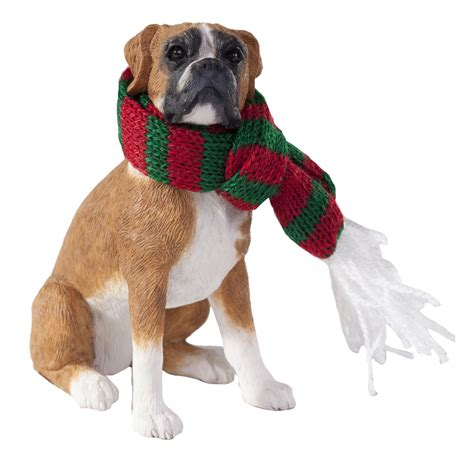 boxer dog xmas decoration boxer ornament baxterboo