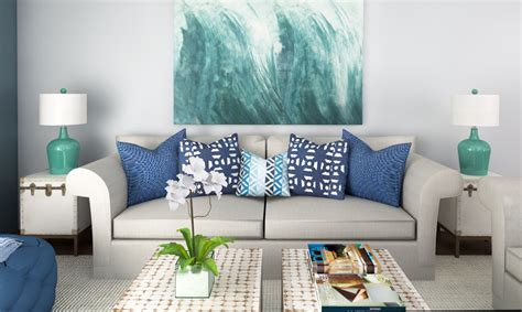 Beach Decor Living Room | beach decor 3 online interior designer rooms decorilla