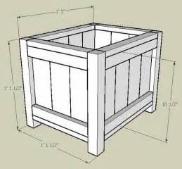 woodworking diy vegetable planter box plans plans pdf