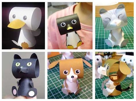 paper finger puppets templates several finger puppet paper toys free templates