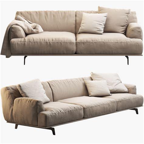 tribecca sofa tribeca poliform sofa seat 3d max