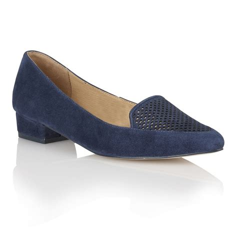 navy flat shoes buy ravel anaconda flat pumps in navy suede