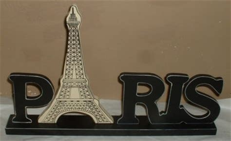 french word for home decor paris word wood sign plaque statue home decor eiffel tower