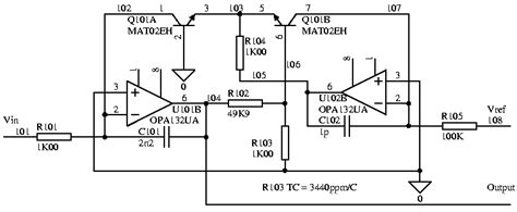 transistor logarithmic lifier components resistor mounted on top of ic electrical engineering stack exchange