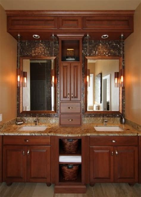 Bathroom Cabinet Designs - 17 best images about tile work bathroom mirror on