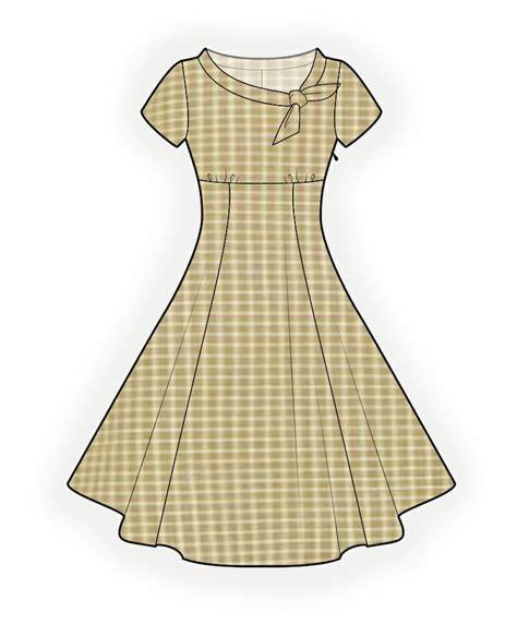 patterns free burda jurk naaipatroon 4368 made to measure sewing pattern